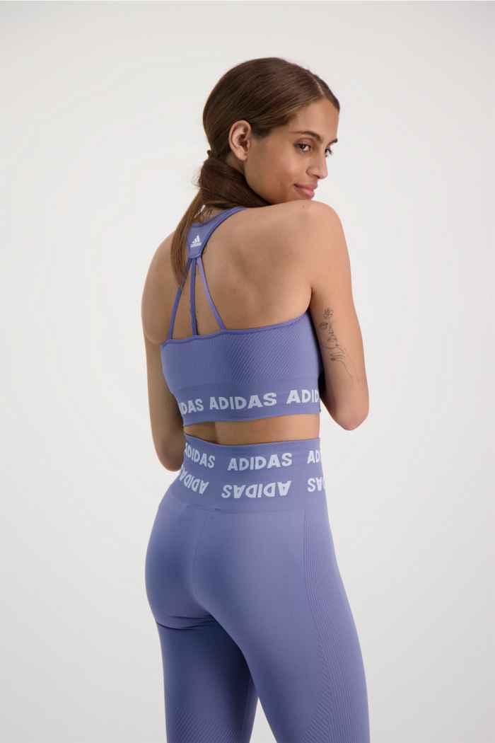 adidas Performance Training Aeroknit soutien-gorge de sport femmes Couleur Lilas 2