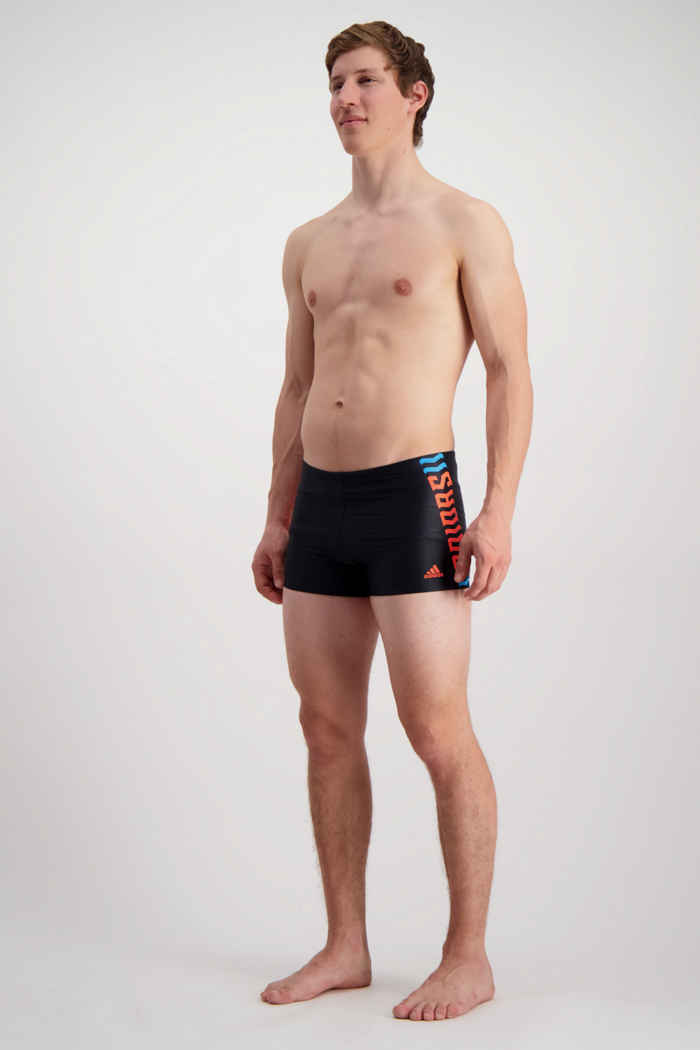 adidas Performance Wording costume da bagno uomo 1