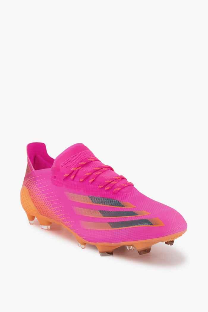 adidas Performance X Ghosted.1 FG Herren Fussballschuh Farbe Pink 1