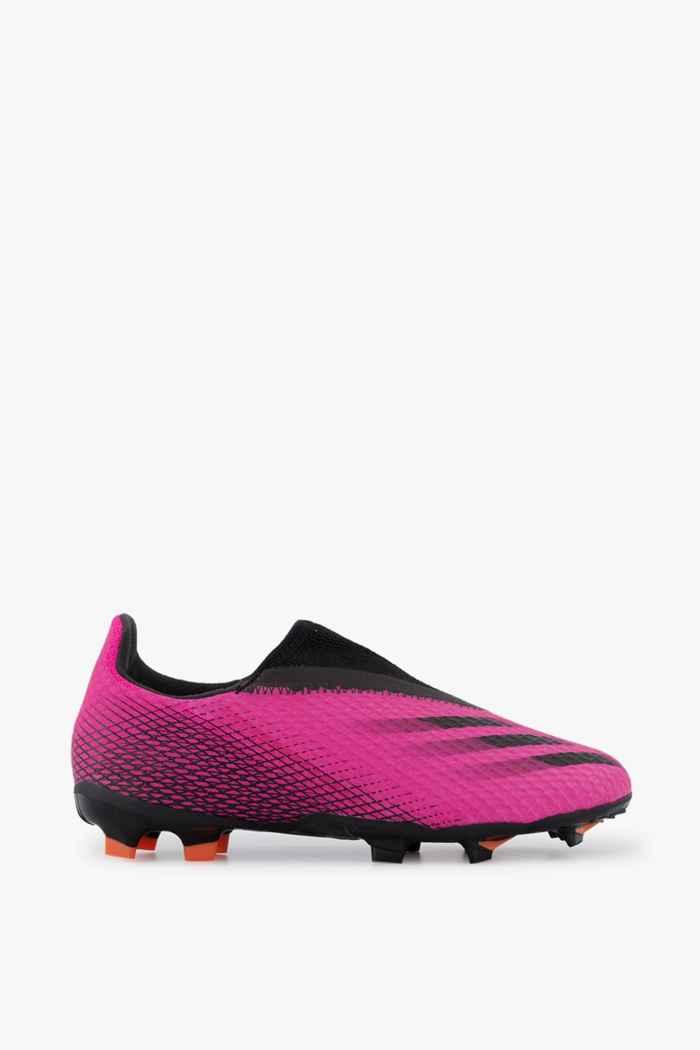 adidas Performance X Ghosted.3 LL FG chaussures de football enfants 2