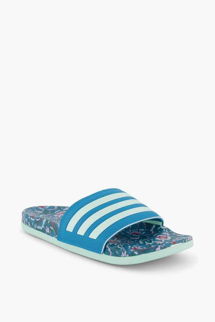 adidas Sport inspired Adilette Comfort Damen Slipper Farbe Blau 1