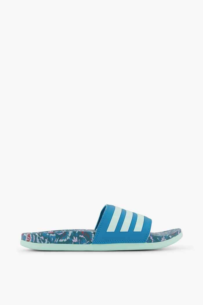 adidas Sport inspired Adilette Comfort Damen Slipper Farbe Blau 2