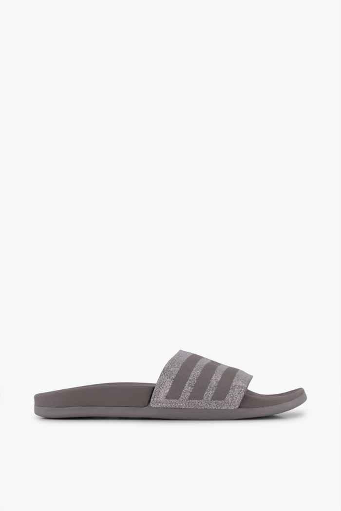 adidas Sport inspired Adilette Comfort Damen Slipper Farbe Grau 2