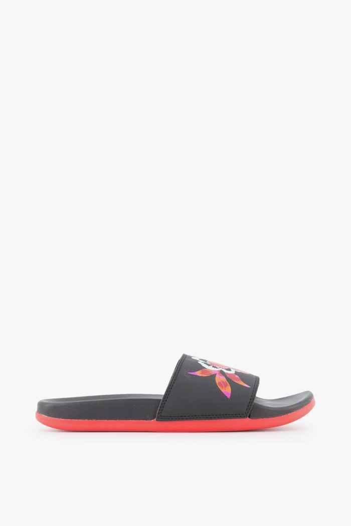 adidas Sport inspired Adilette Comfort slipper femmes Couleur Noir/rouge 2