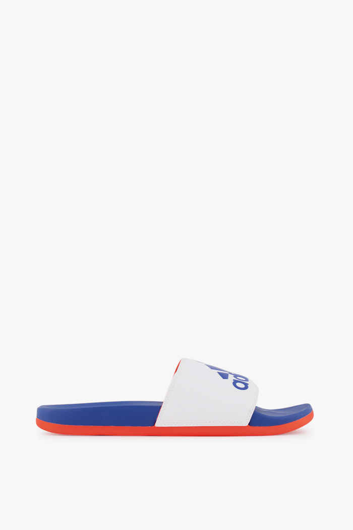 adidas Sport inspired Adilette Comfort slipper hommes Couleur Blanc/bleu 2