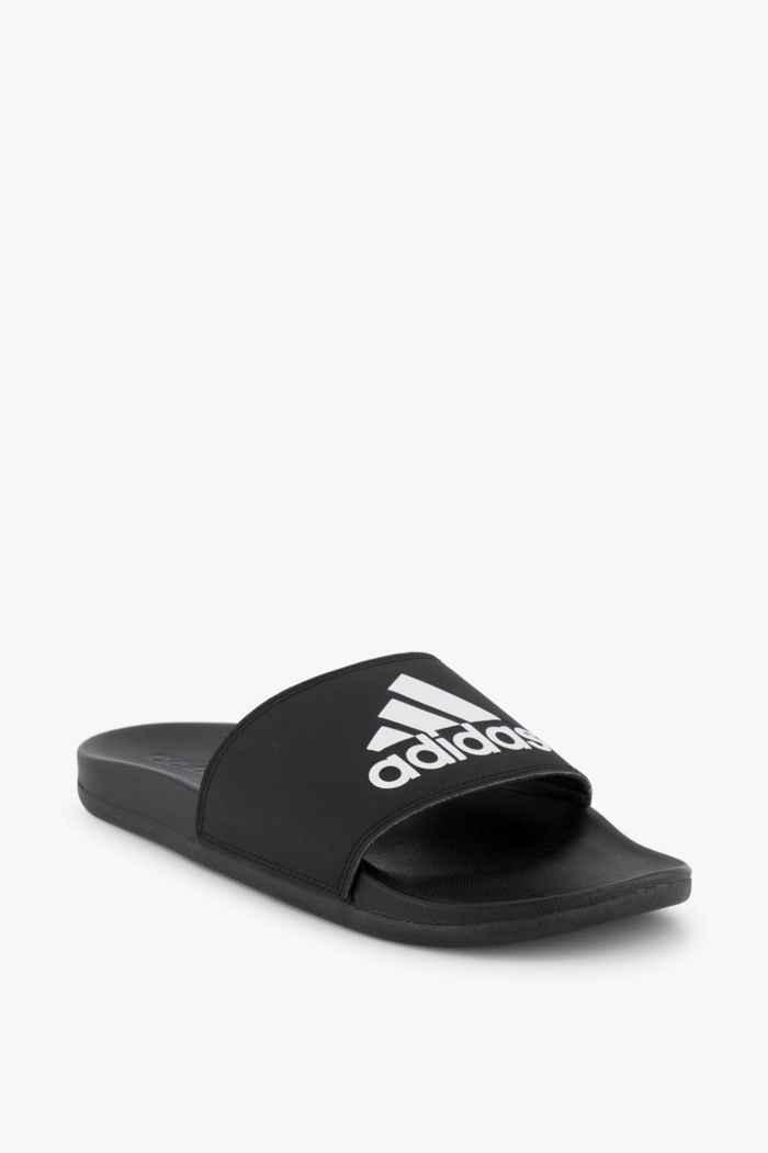 adidas Sport inspired Adilette Comfort slipper hommes Couleur Noir-blanc 1