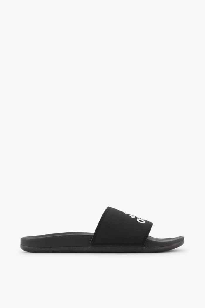 adidas Sport inspired Adilette Comfort slipper hommes Couleur Noir-blanc 2