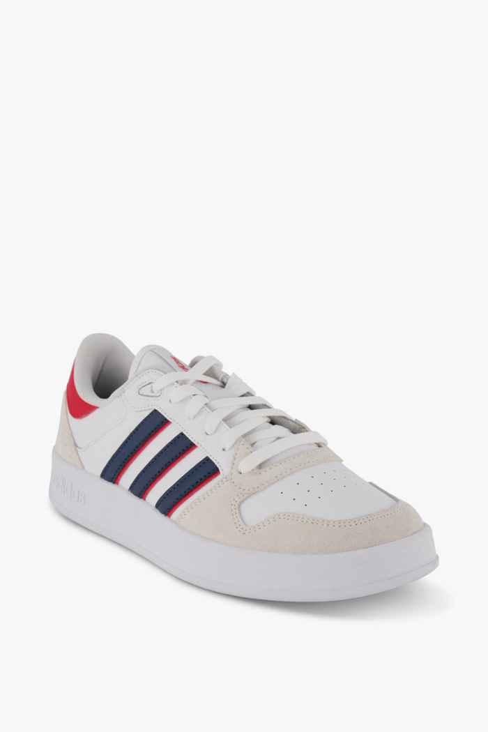 adidas Sport inspired Breaknet Plus Herren Sneaker Farbe Weiß-rot 1
