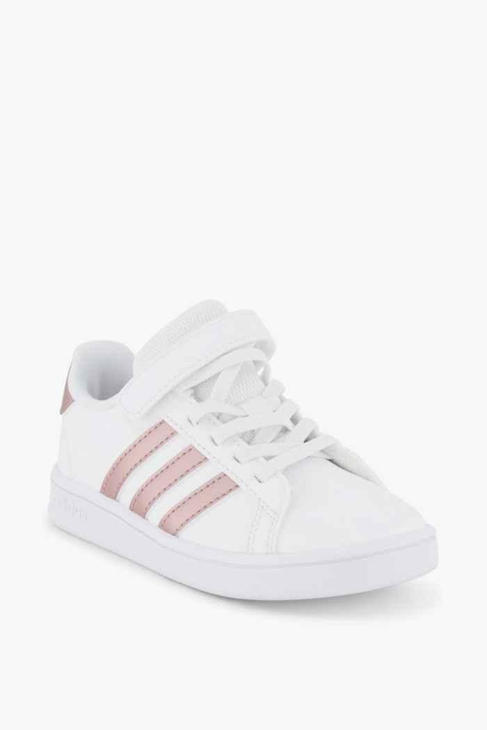 adidas Sport inspired Grand Court C Kinder Sneaker Farbe Weiß 1