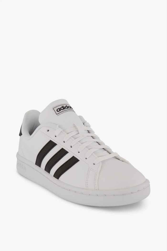 adidas Sport inspired Grand Court sneaker donna Colore Nero-bianco 1