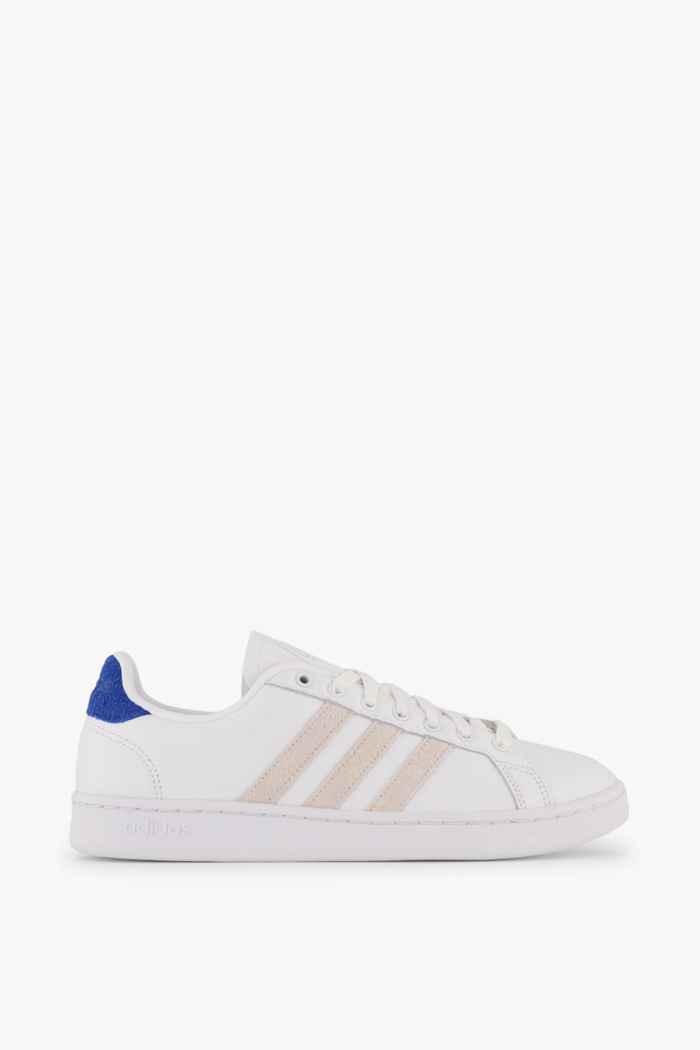 adidas Sport inspired Grand Court sneaker uomo Colore Bianco-blu 2
