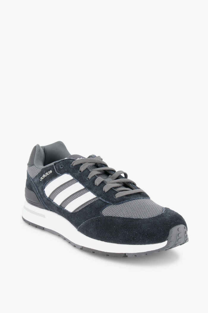adidas Sport inspired Run 80s sneaker uomo Colore Nero-bianco 1