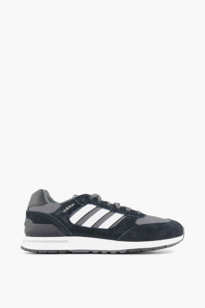 adidas Sport inspired Run 80s sneaker uomo Colore Nero-bianco 2