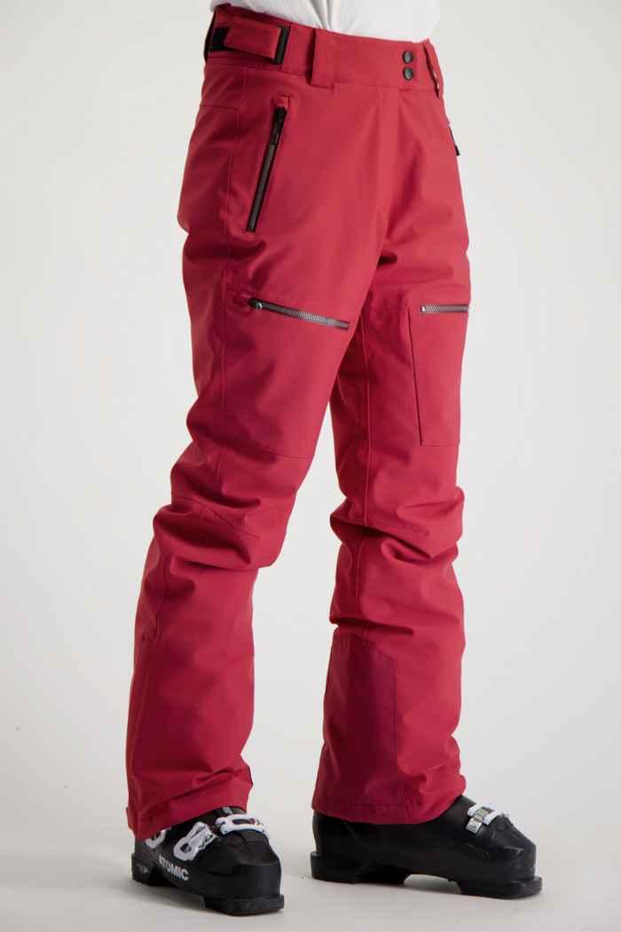 Albright Andermatt Damen Skihose Farbe Pink 1