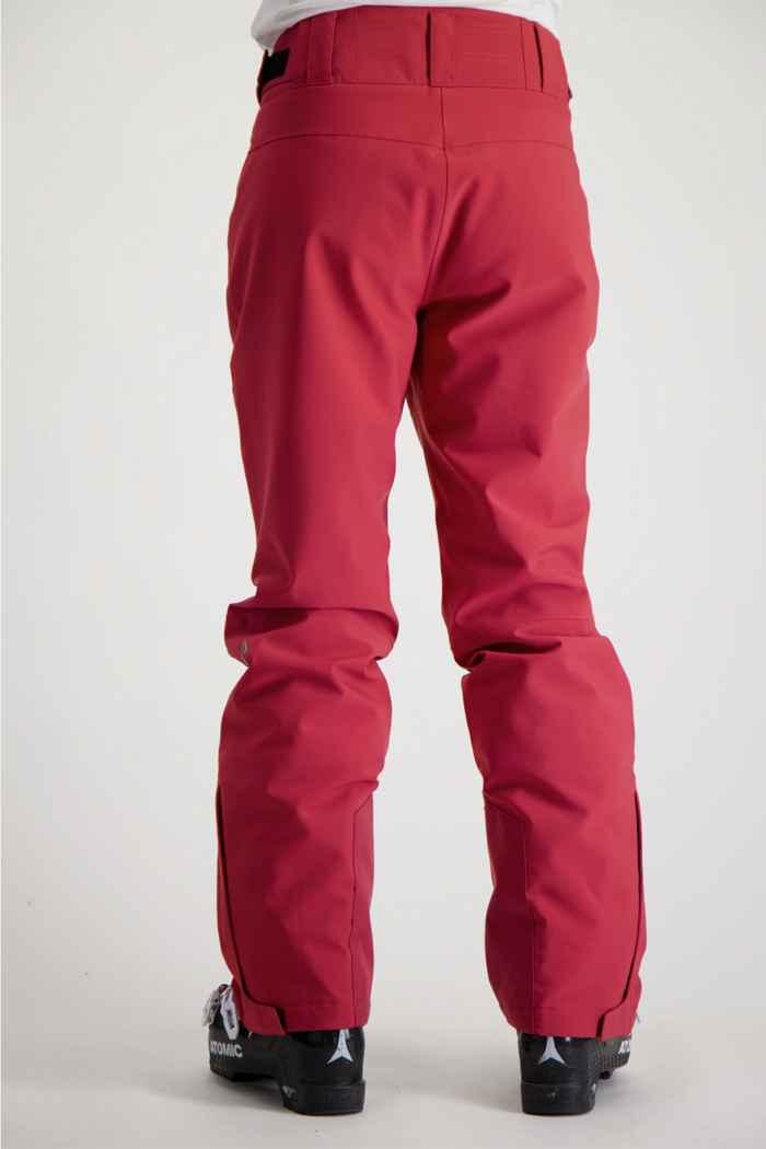 Albright Andermatt Damen Skihose Farbe Pink 2