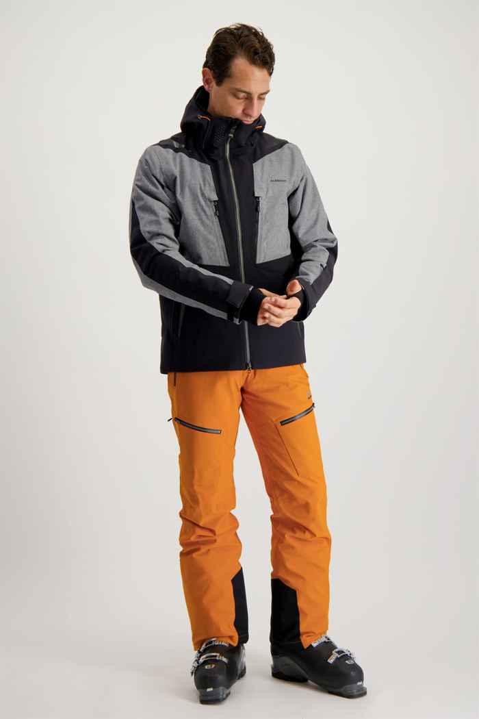 Albright Andermatt Herren Skihose Farbe Orange 1
