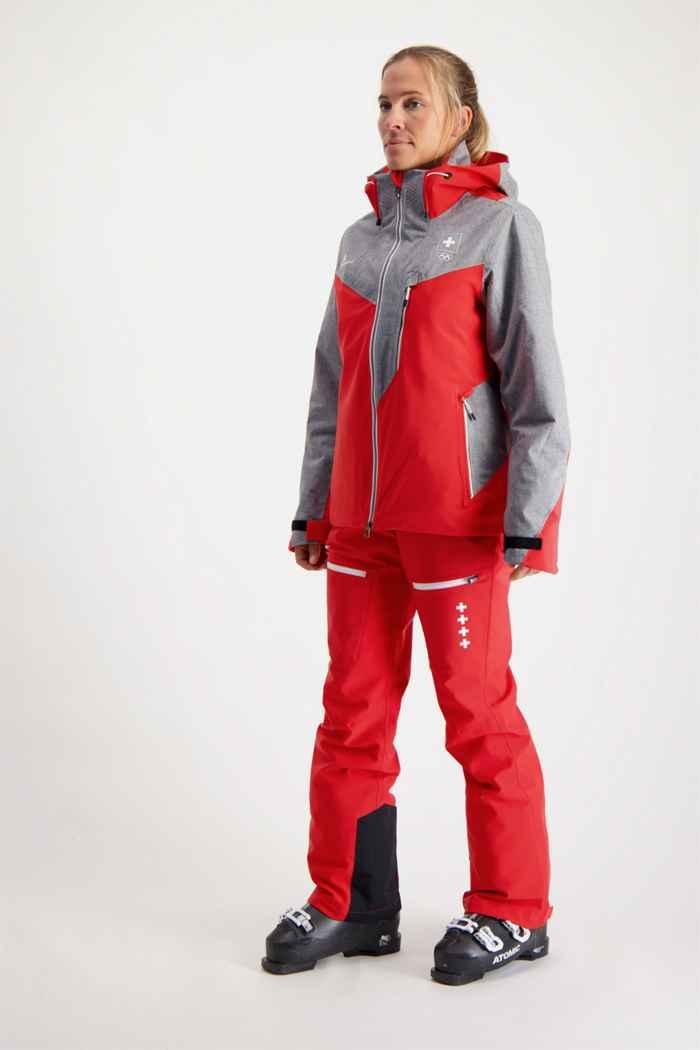 Albright Andermatt Swiss Olympic Damen Skihose 2