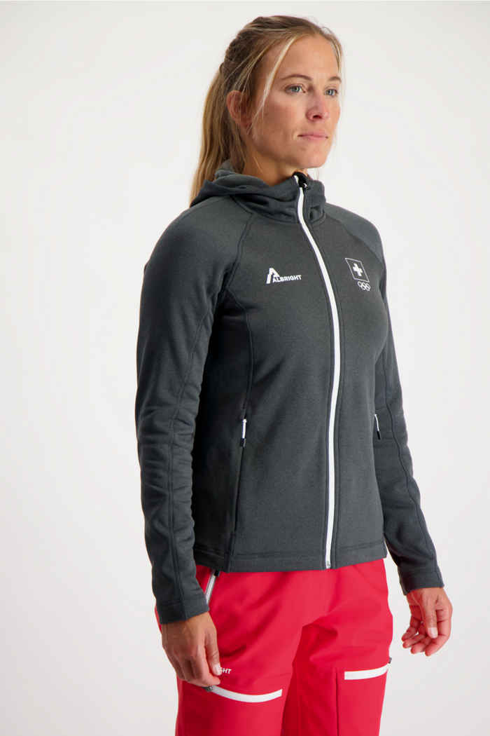 Albright Garmisch Swiss Olympic Damen Midlayer 1