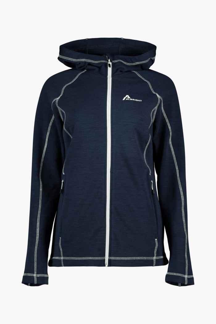 Albright Garmisch Wool Hood Damen Midlayer 1