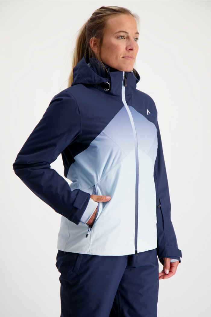 Albright St.Moritz Damen Skijacke Farbe Blau 1