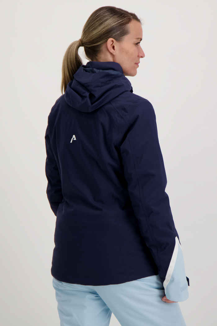 Albright St.Moritz Damen Skijacke Farbe Blau 2