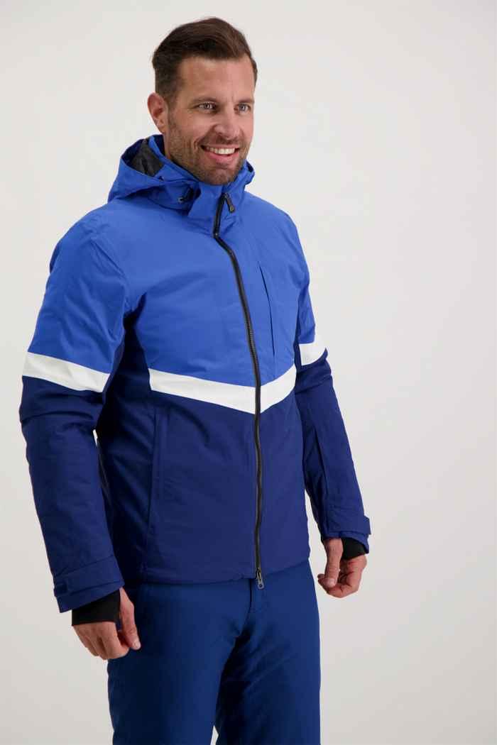 Albright St.Moritz Herren Skijacke Farbe Blau 1