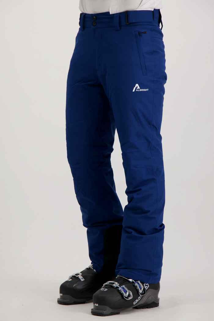 Albright St.Moritz pantalon de ski hommes Couleur Bleu 1