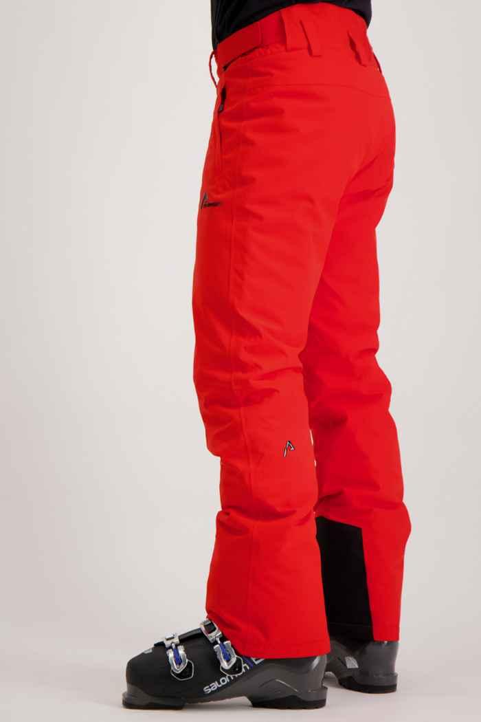 Albright St.Moritz pantalon de ski hommes Couleur Rouge 1