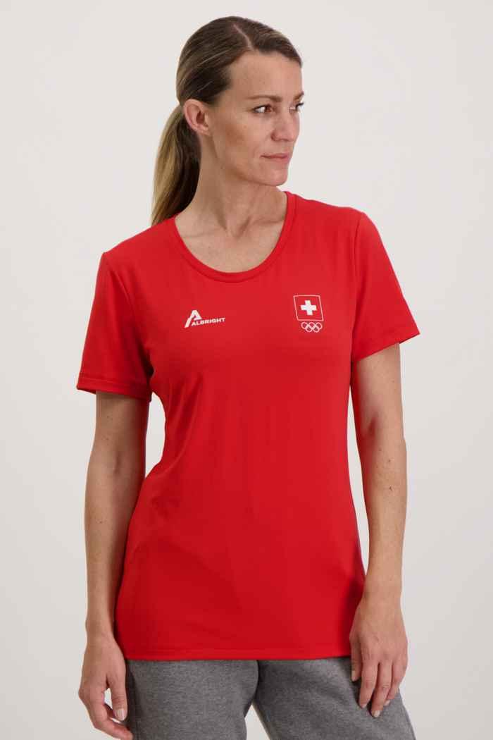 Albright Swiss Olympic Damen T-Shirt 1