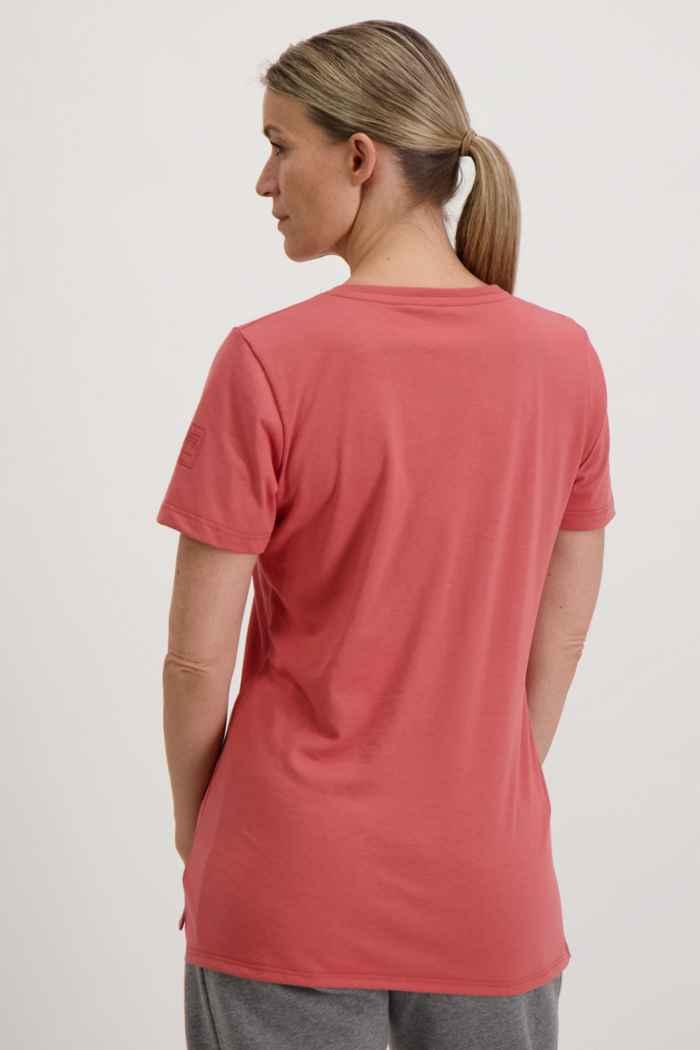 Albright Swiss Olympic Damen T-Shirt Farbe Rot 2