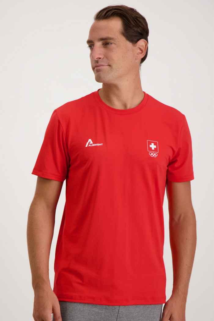 Albright Swiss Olympic Herren T-Shirt 1