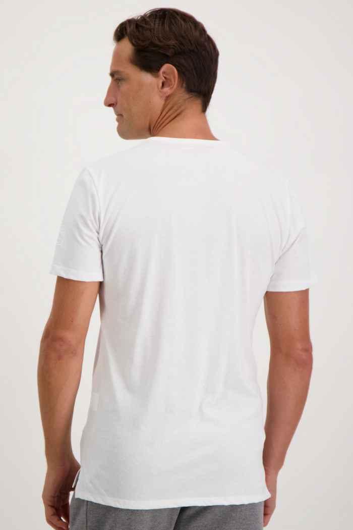 Albright Swiss Olympic Herren T-Shirt Farbe Weiß 2