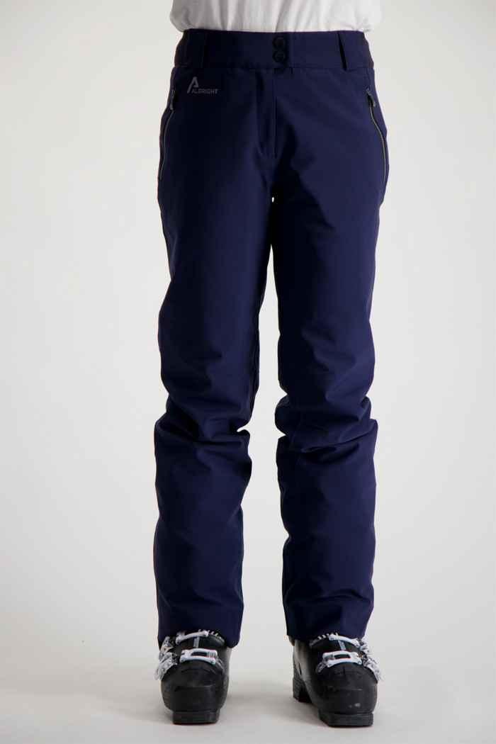 Albright Tarvis Damen Skihose Farbe Navyblau 1