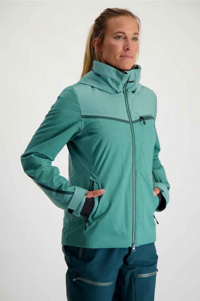 Albright Verbier Damen Skijacke Farbe Mint 1