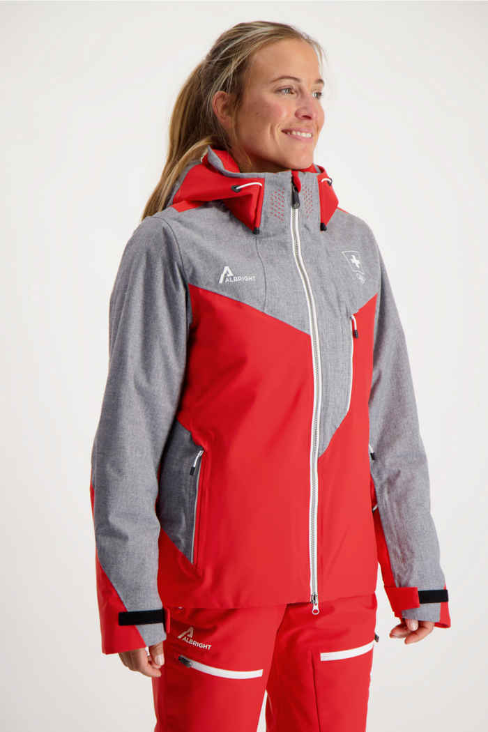 Albright Zermatt Swiss Olympic Damen Skijacke 1