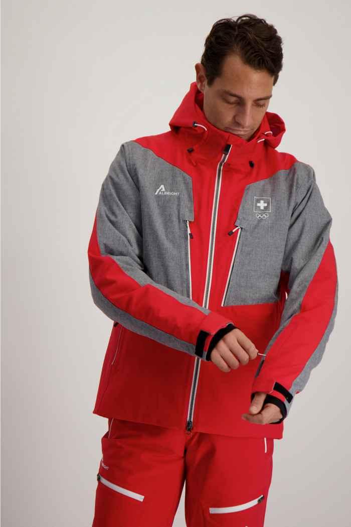 Albright Zermatt Swiss Olympic Herren Skijacke 1