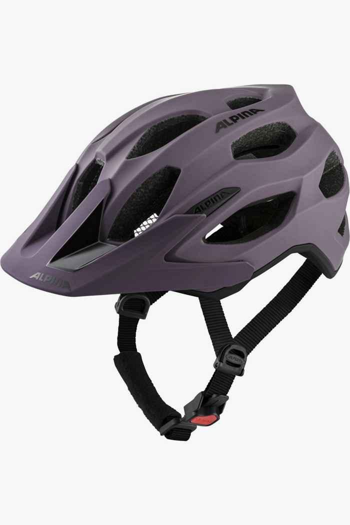 Alpina Carapax 2.0 casque de vélo femmes Couleur Violett 1