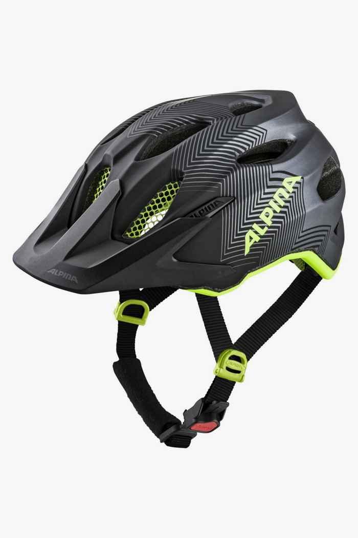 Alpina Carapax casque de vélo enfants Couleur Jaune 1