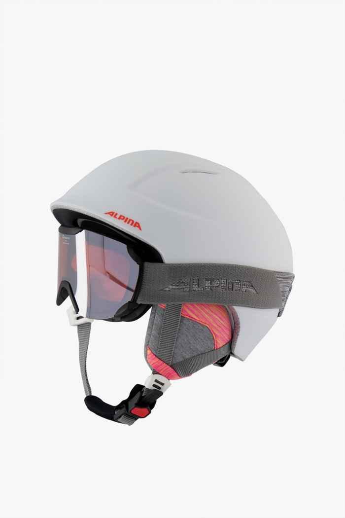 Alpina Chute casque de ski + Thaynes masque 1