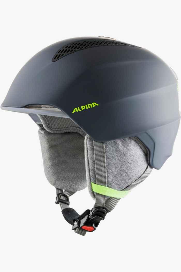 Alpina Grand casque de ski enfants Couleur Gris 1