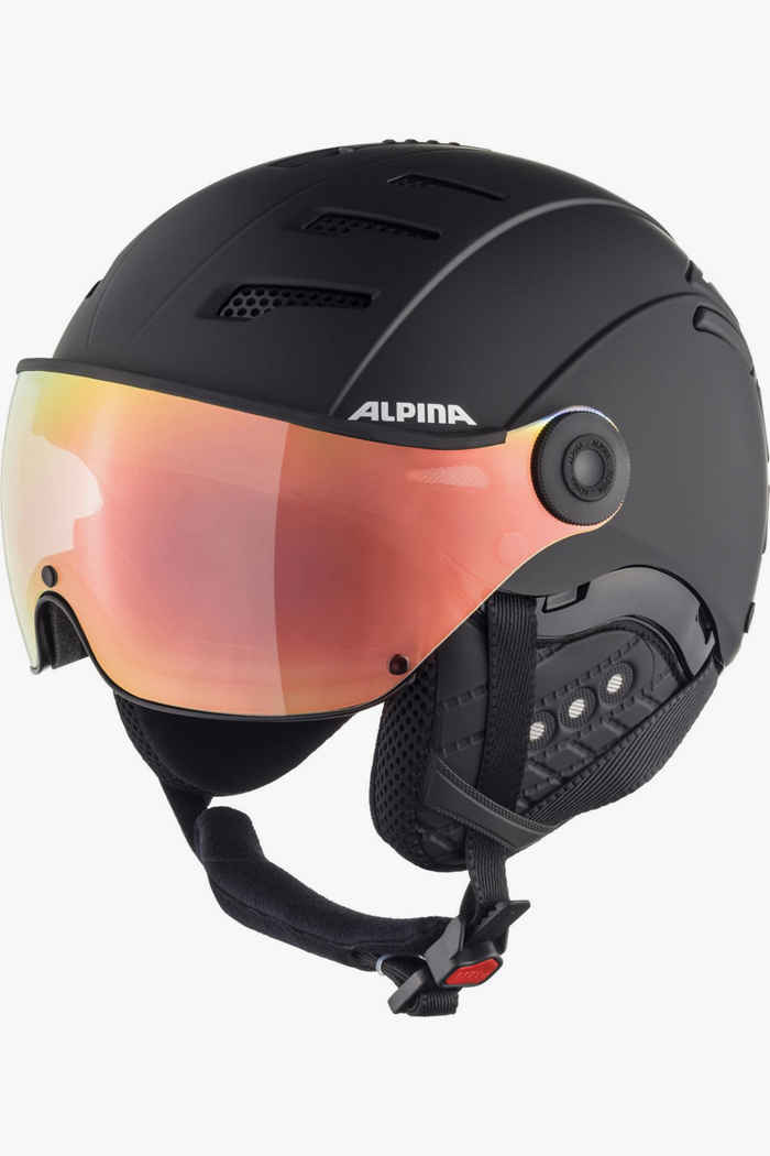 Alpina Jump 2.0 HM casque de ski Couleur Noir 1