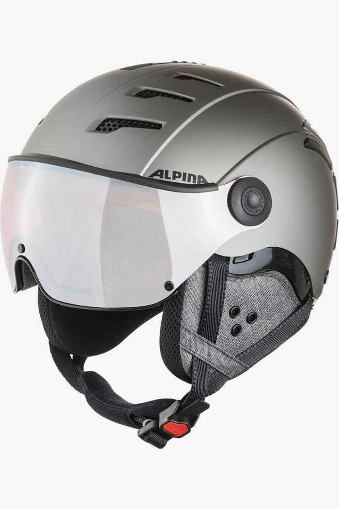 Alpina Jump 2.0 QVM casque de ski Couleur Argent 1