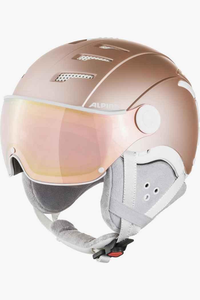 Alpina Jump 2.0 QVM casque de ski Couleur Rosegold 1
