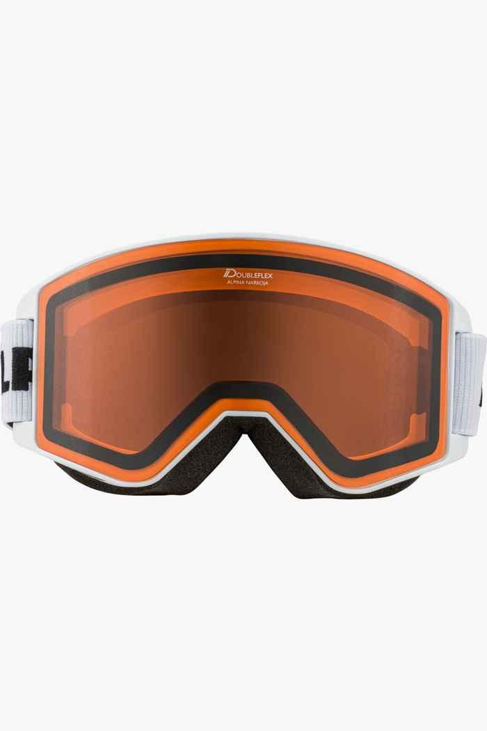 Alpina Narkoja lunettes de ski Couleur Blanc 2