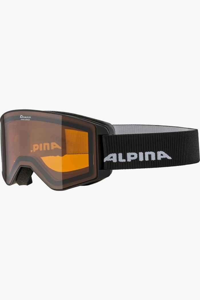 Alpina Narkoja lunettes de ski Couleur Noir 1