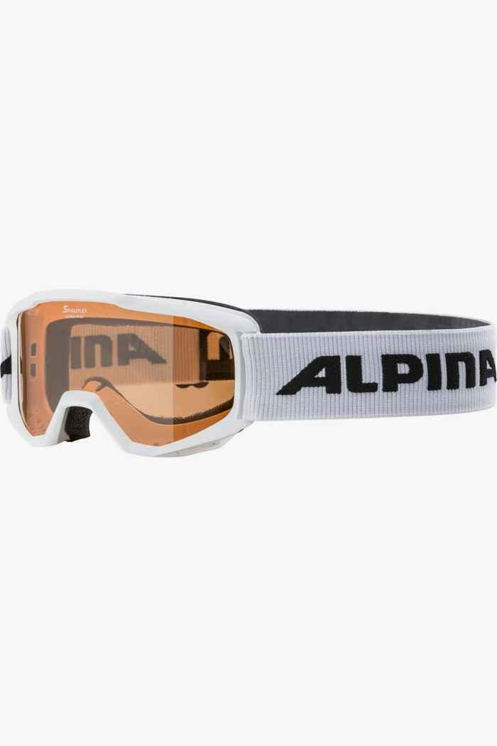 Alpina Piney lunettes de ski enfants Couleur Blanc 1