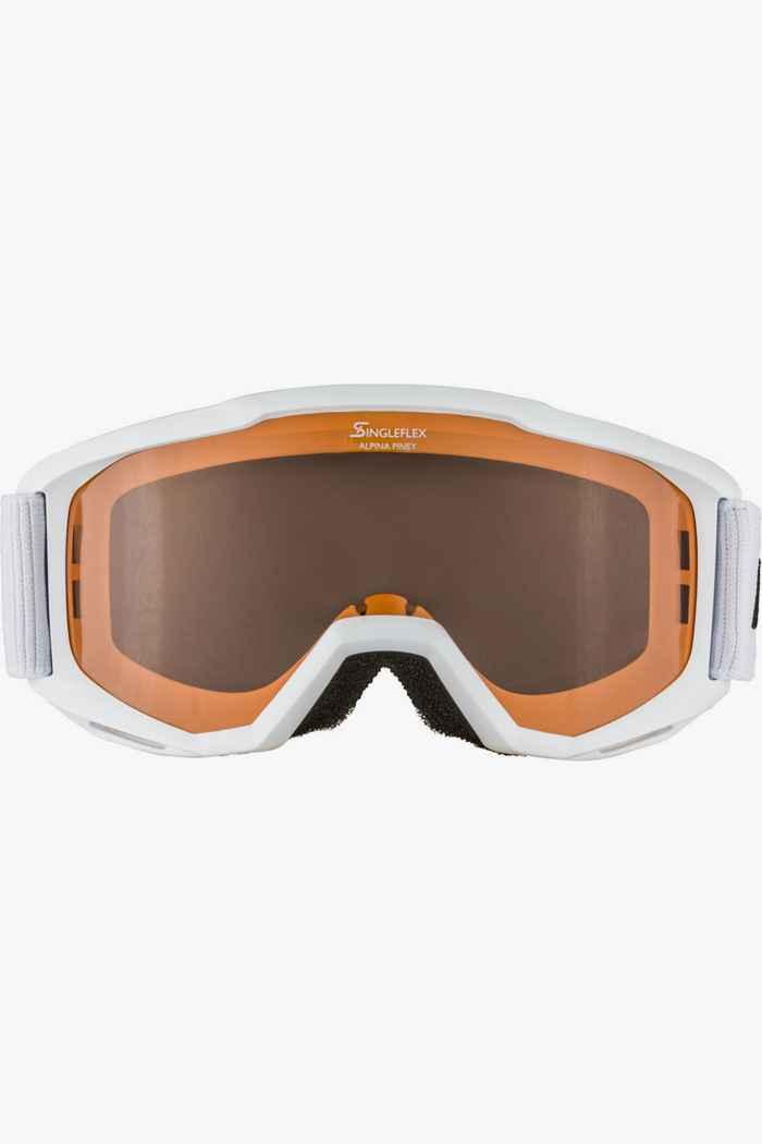 Alpina Piney lunettes de ski enfants Couleur Blanc 2
