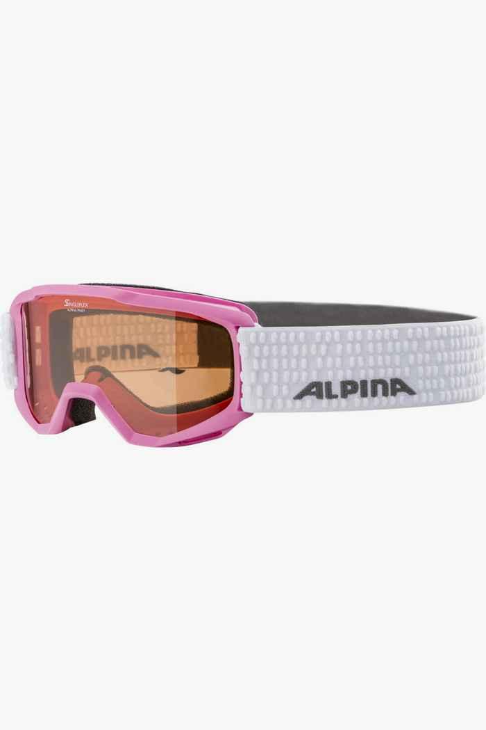 Alpina Piney lunettes de ski enfants Couleur Rose 1