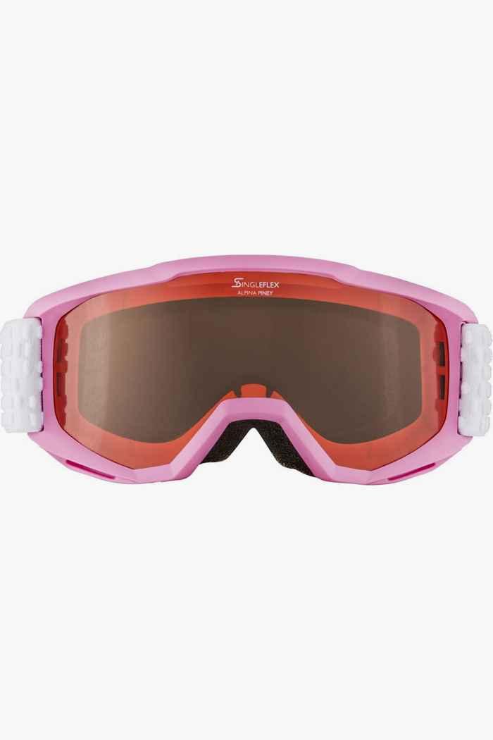 Alpina Piney lunettes de ski enfants Couleur Rose 2