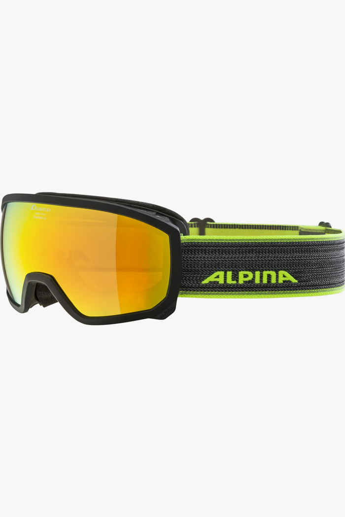 Alpina Scarabeo MM lunettes de ski enfants Couleur Noir 1